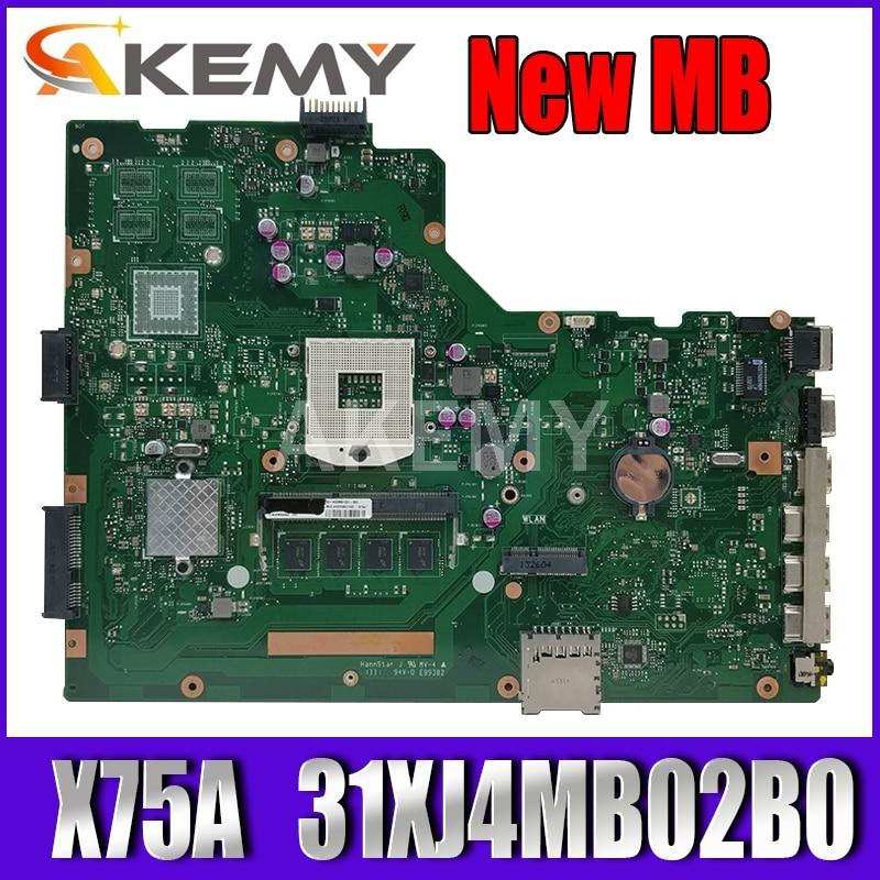 X75VB X75VD اللوحة REV:2.0 ل Asus X75VC X75VD X75V X75A X75A1 اللوحة المحمول 31XJ4MB02B0