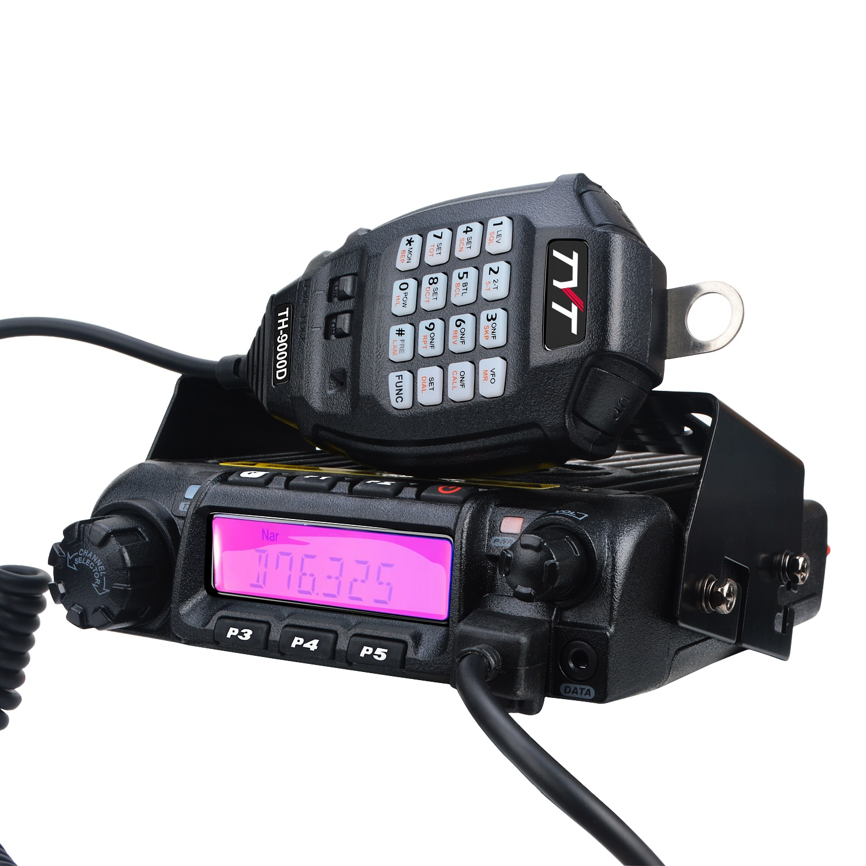 TYT TH-9000D 66-88MHz 200CH 45W عالية انتاج الطاقة جهاز تشويش إذاعي DTMF المحمول راديو الإرسال والاستقبال