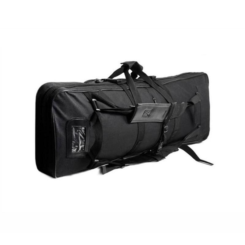 Bolsa de Arma Tiro do Exército Esporte ao ar Engrenagem Militar Tático Caça Airsoft Sniper Rifle Arma Case Carry Bolsa Livre Pesca Mochila 94cm