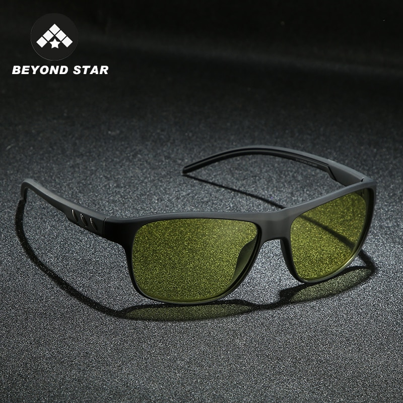 2019 Yellow Night Driving Vintage Glasses Women Color Changing Sunglass Photochromic Polarised Sungl
