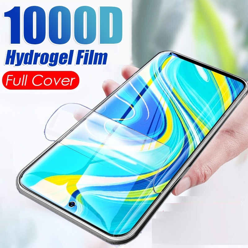 Case For OPPO F9 /F9 Pro Hydrogel Film Screen Protector 9H Premium Protective Film Not Tempered Glas