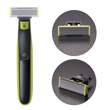 Replacement Shaver Head for Philips OneBlade Men Manual Beard Shaver Blade for Razor Stainless Steel