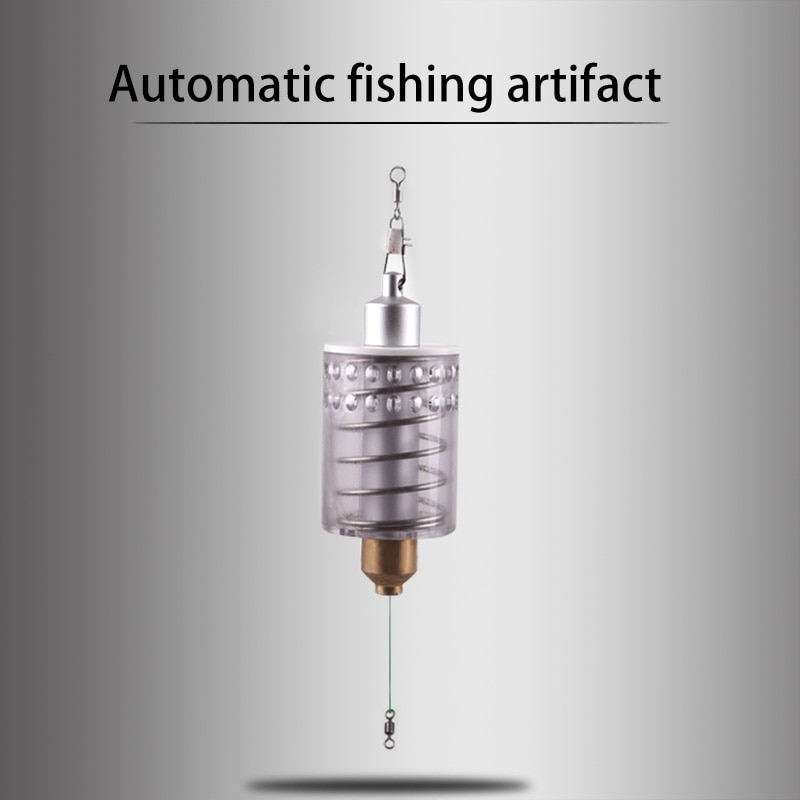 Fishing Hook Automatic Fishing Device Fishing Goods Full Speed Automatic Spring Hook Outdoor For Fishing Fishing Accessories enlarge