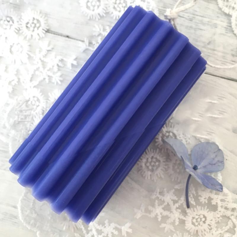 De plástico de manualidades, redonda vela molde tira dental hacer molde hecho a mano hogar Decoración