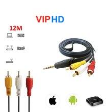 12M rj45 España android soporte de caja de Tv con m3u smart tv enigma2 PC Linux flores IP cable HDMI m3u