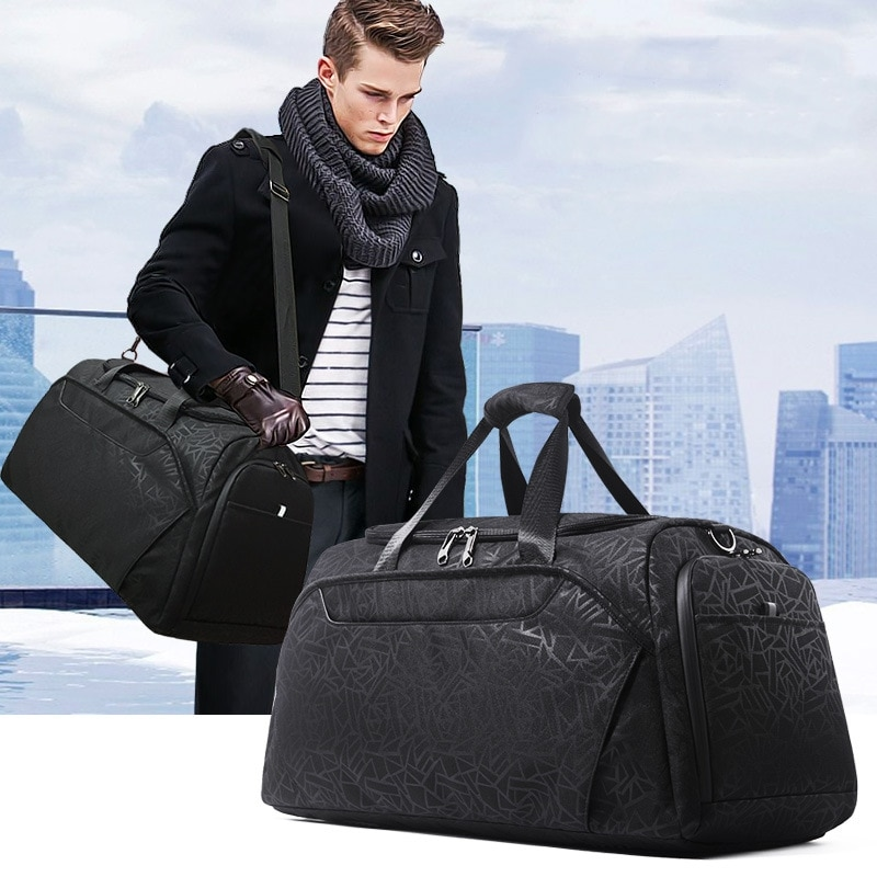 Weysfor Vogue Large Capacity Travel Bags Handbags Waterproof Foldable Luggage Men Women Multifunction Business