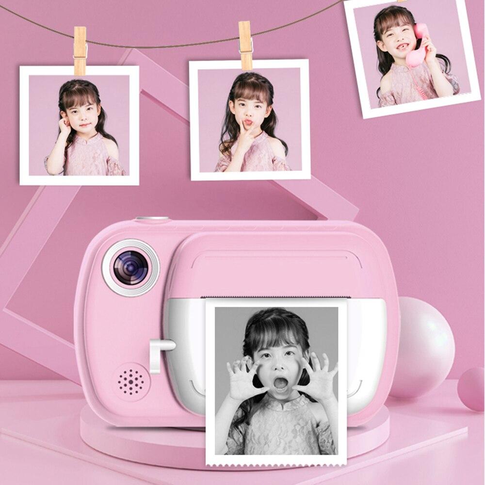 كاميرا مطبوعة فورية للأطفال ، 3.5 بوصة ، 1080 بكسل ، شاشة كبيرة مع ورق حراري ، ألعاب كاميرا للبنات والأولاد ، هدايا أعياد الميلاد