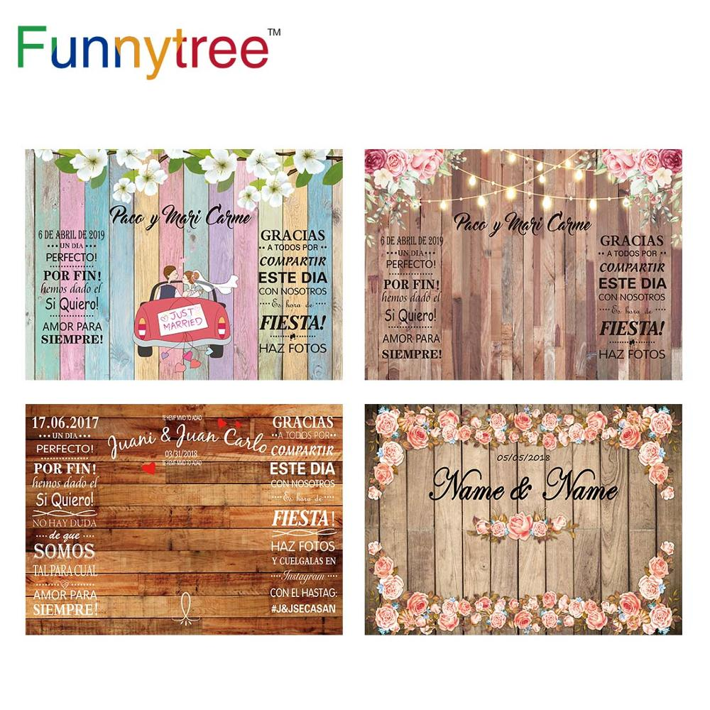 flower deer wedding background stand marriage party custom vinyl photography backdrops for photo studio photographic photocall Funnytree Wedding Photography Backdrop Spring Marriage Love Wood Flower Custom Background Photo Studio Photozone Vinyl Photocall