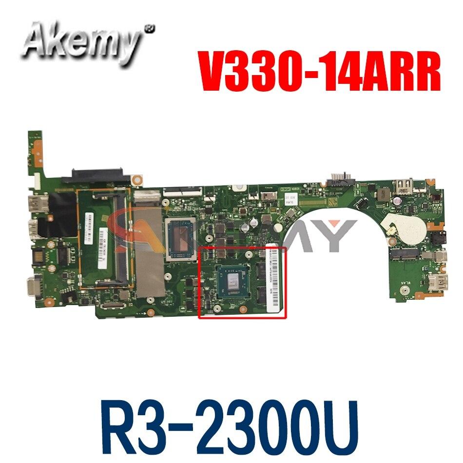 LA-F485P لينوفو V330-14ARR V330-15ARR اللوحة المحمول 5B20R27353 w/ Ryzen R5-2500U وحدة المعالجة المركزية + 4GB RAM + 2GB GPU