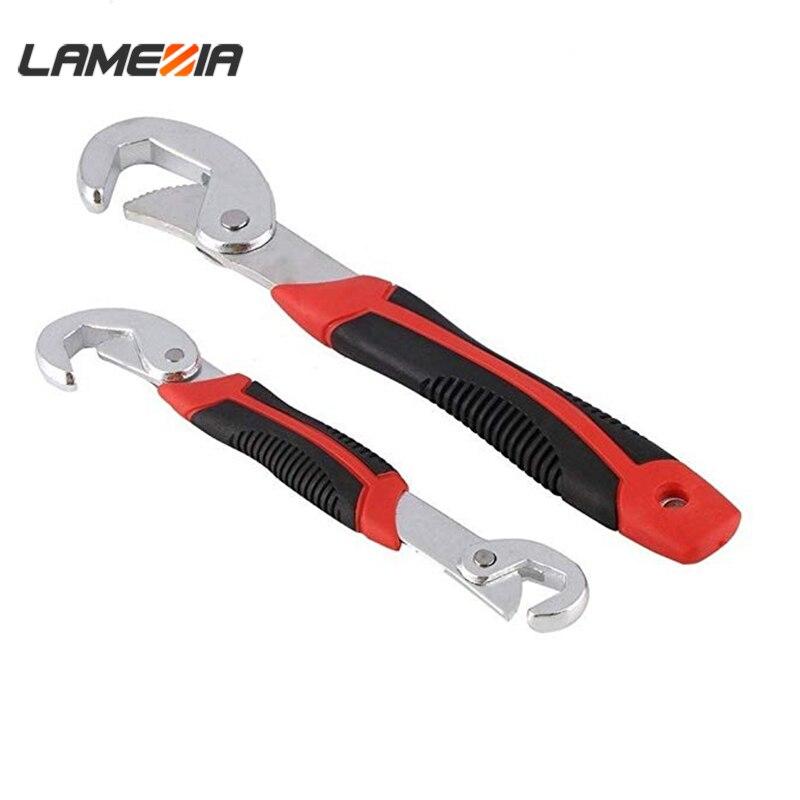 LAMEZIA anahtarı seti evrensel anahtar 9-32mm çok fonksiyonlu ayarlanabilir taşınabilir tork cırcır yağ filtresi anahtarı el aletleri