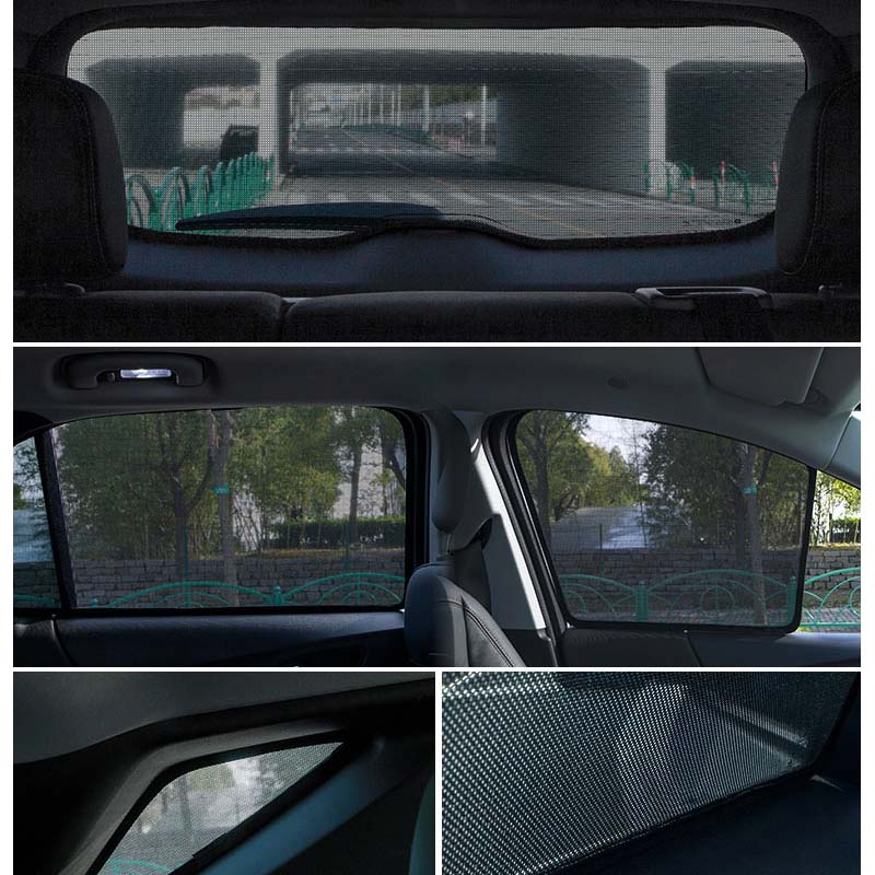 لتويوتا بريوس 30 20 50 المغناطيسي سيارة الشمس شبكة تظليل ظلة الجانب نافذة الشمس قناع العزل لتويوتا بريوس xw30 2009-2015