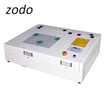 ZD4040 40 واط 50 واط سطح المكتب مصغرة A4 ماكينة الحفر بالليزر CO2 آلة تقطيع بالليزر 40*40 سنتيمتر ل الاكريليك الخشب MDF ورقة النقش
