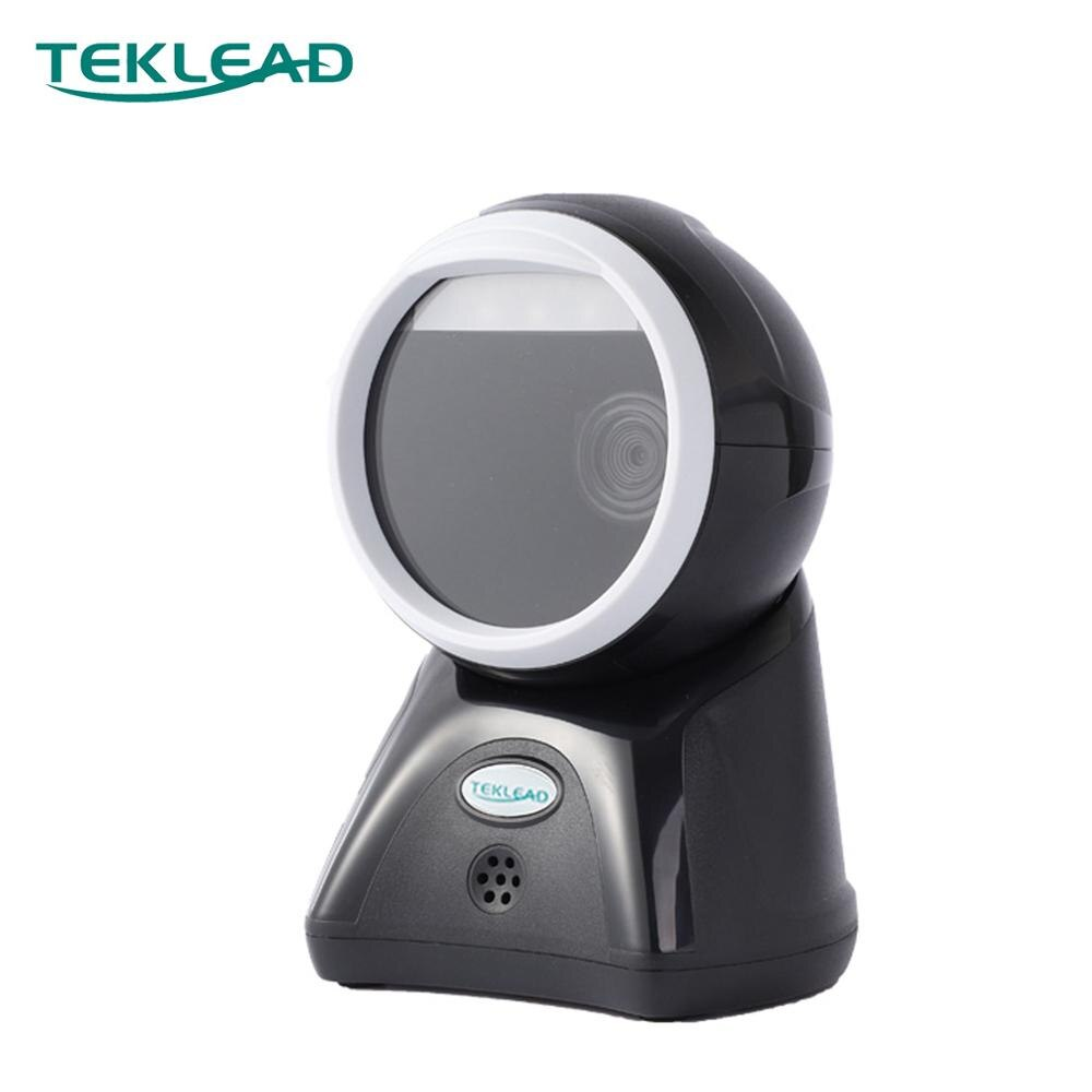 High speed Sensitive 2D desk type barcode scanner Wired USB Cable for Supermarket Retail pos Point of sales system use