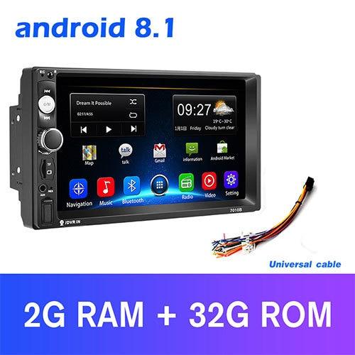 Podofo 2din Car Radio Android Mirrorlink Bluetooth Gps Wifi Fm Car Multimedia Mp5 Player For Volkswagen Nissan Hyundai Autoradio Car Mp5 Player Car Mp5mp5 Car Player Aliexpress
