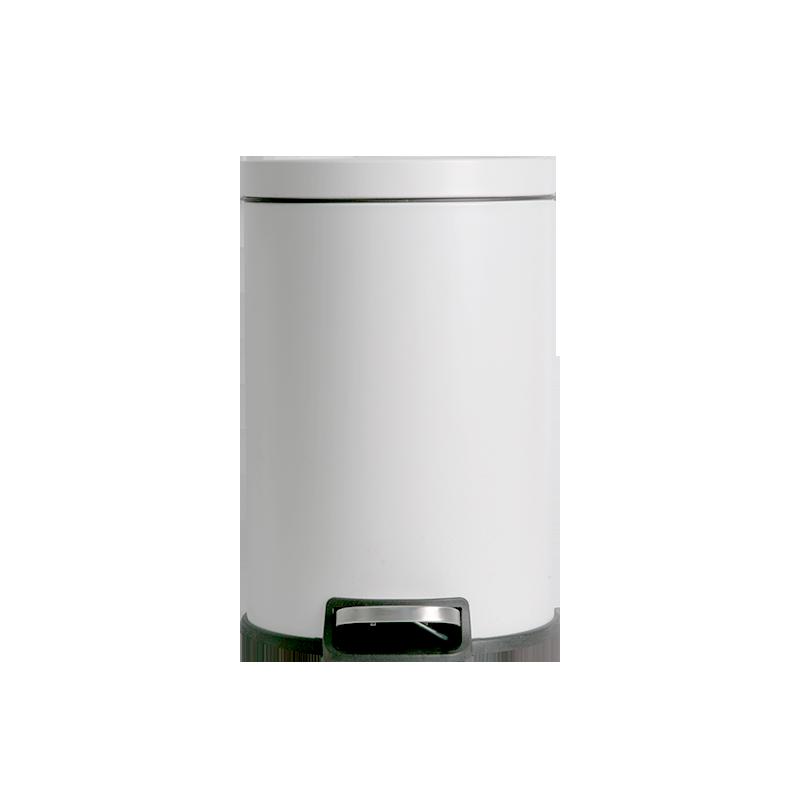 Modern Luxury Trash Bin Bedroom Stainless Steel Minimalist Kitchen Trash Can Room Accessories Poubelle De Cuisine Storage BC50LJ enlarge