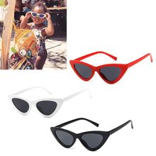 Cat Eye Kids Sunglasses Fashion Brand Child Sun Glasses Anti-uv Baby Sun-shading Girl Boy Sunglass