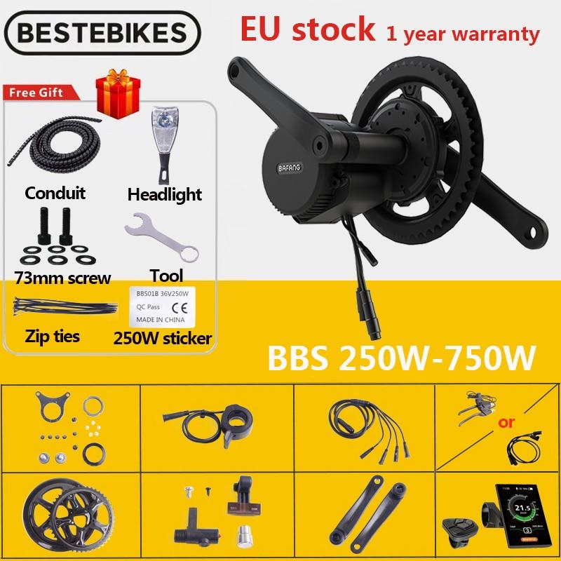 bafang bbs01b 250w e-bike conversion kit