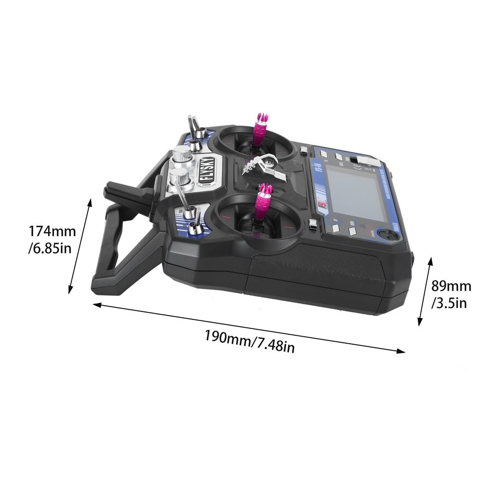 FLYSKY FS-i6 I6 2.4G 6CH AFHDS 2A Radio Transmitter With iA6 iA6B iA10B Receiver For RC Airplane Helicopter FPV Racing Drone enlarge