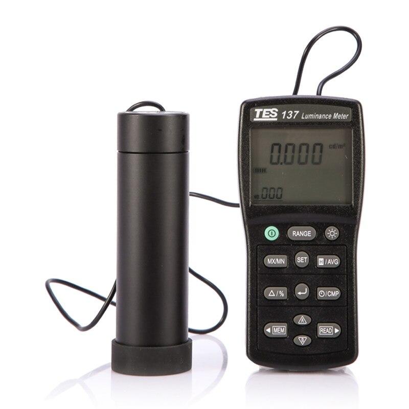 TES-137 Leuchtdichte Meter mit Dual Display Original aus TaiWan LCD Leichtigkeit Tester,Dual Display, 4-stellige LCD. Usb-schnittstelle.