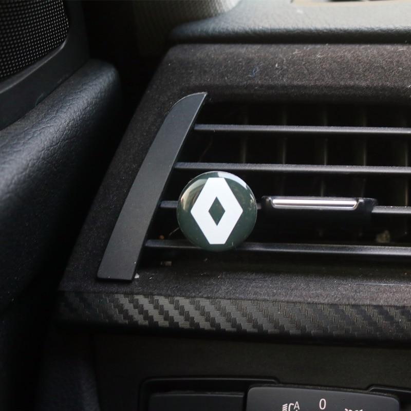 Ambientador de aire acondicionado para coche, para protector antipolvo para Renault megane 2, decoración Interior de coche logan renault clio