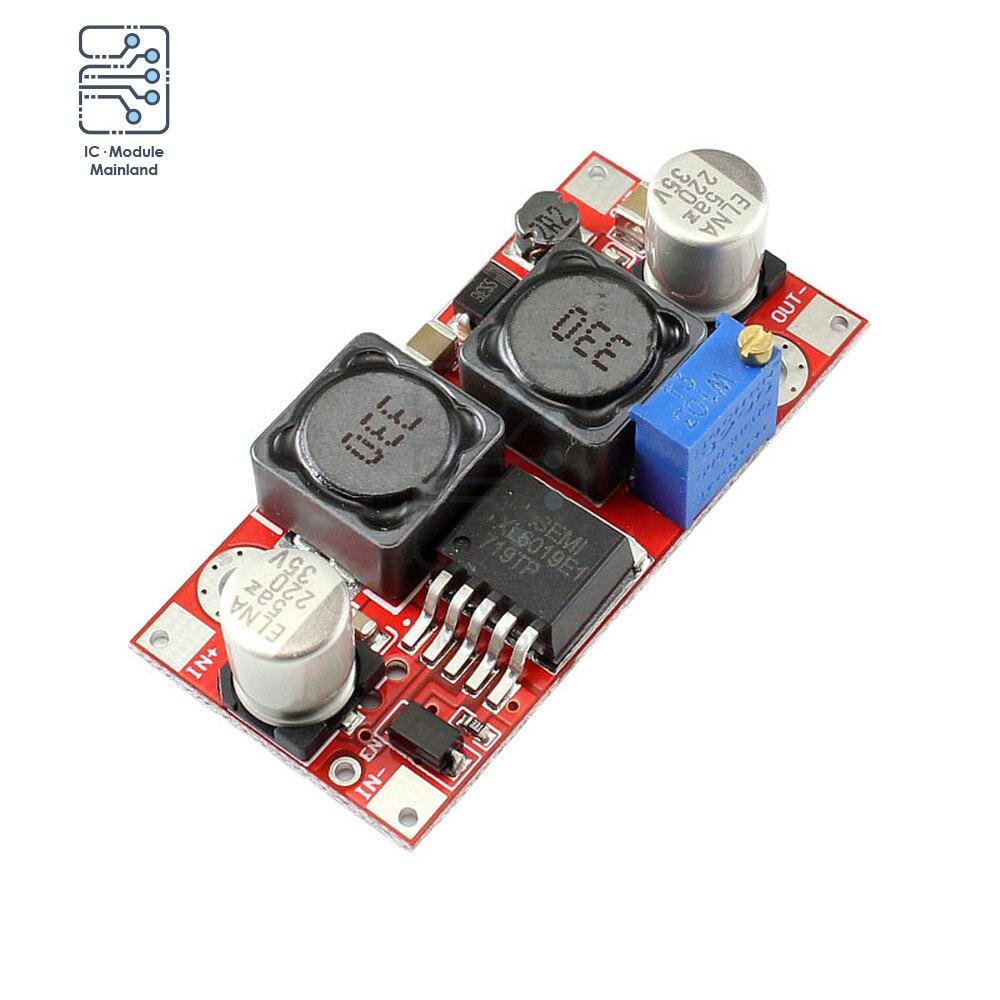 2000w 74a 27v power supply 27v 74a output voltage current adjustable ac dc 0 5v analog signal control dc27v 0 27v DC-DC 5V 32V XL6019 Adjustable Automatic Boost Module Power Supply Step-up Voltage Converter Vonverter Regulator Output 1.2V 35V