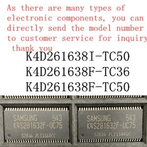 K4D261638I-TC50 K4D261638F-TC36 K4D261638F-TC50 TSOP66 128Mbit DDR SDRAM One-stop distribution of electronic components
