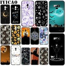 Halloween Magic witch Black Soft Silicone Case for Samsung Galaxy A70S A20E A2 J4 J6 Plus Core J7 Duo J8 TPU Cover