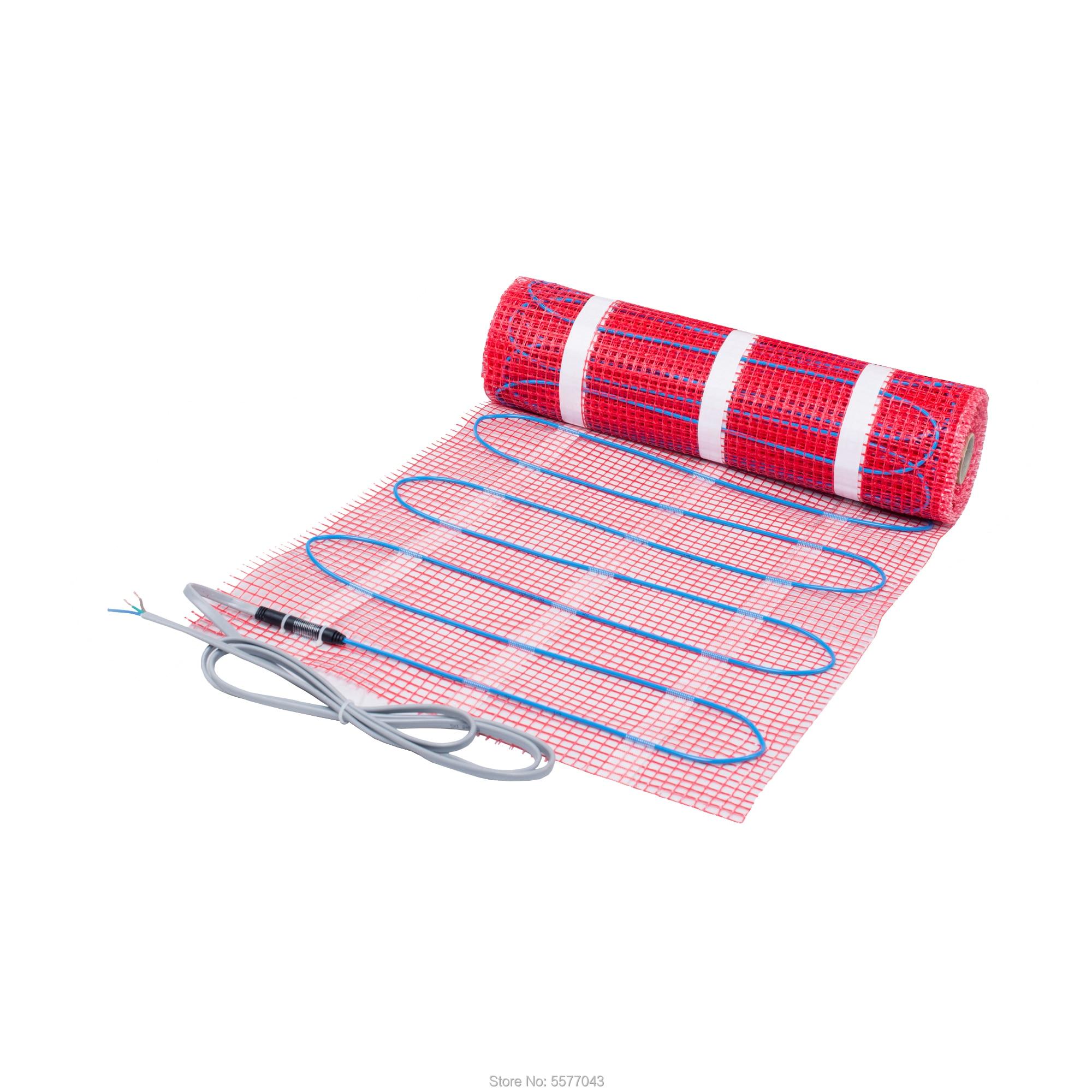 حصيرة تدفئة تحت الأرضية للحمام الاحترار في الأماكن المغلقة 230 فولت 100 واط/M2