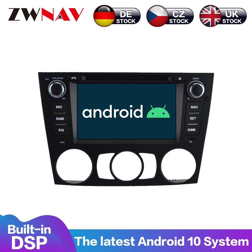 Para Android 9,0 reproductor de DVD del coche de navegación GPS Multimedia estéreo para BMW E91 E92 E93 2005 y 2006 de 2007 de 2008- r