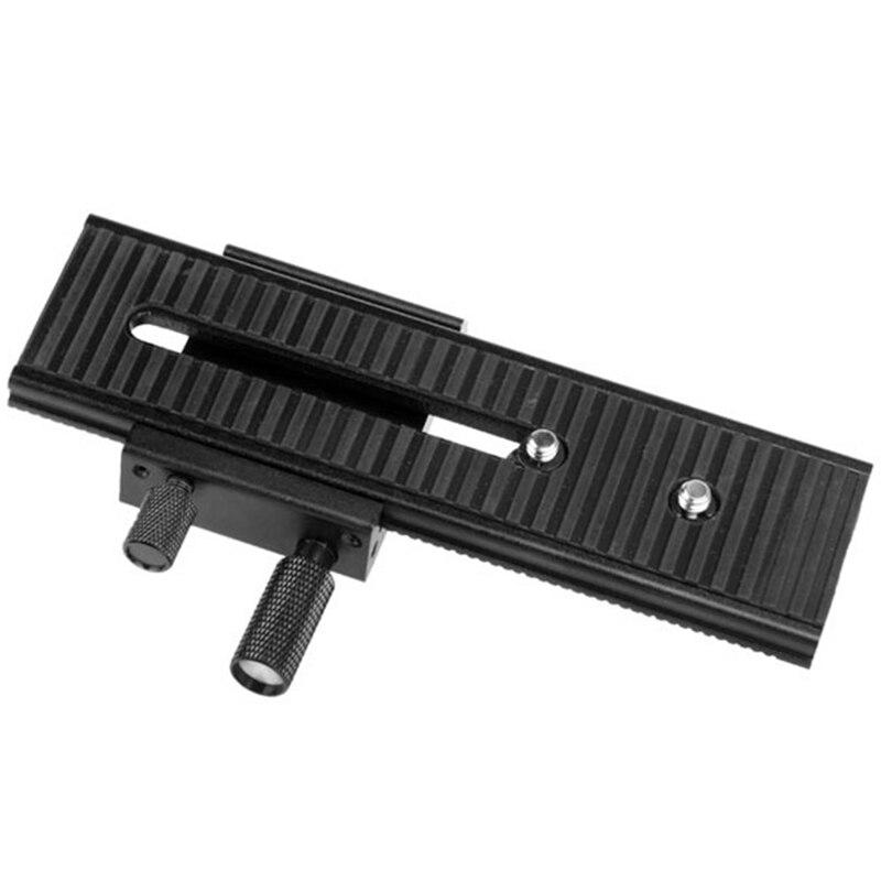 Jabs novo 2 way lp-01 macro com foco deslizante ferroviário para canon nikon sony pentax dslr 1/4 Polegada parafuso com foco móvel