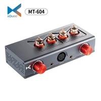 new xduoo mt 604 balanced headphone amplifier 6j1 pre amp xlr 4 4mm balanced input output tube transistor hybrid amplifier
