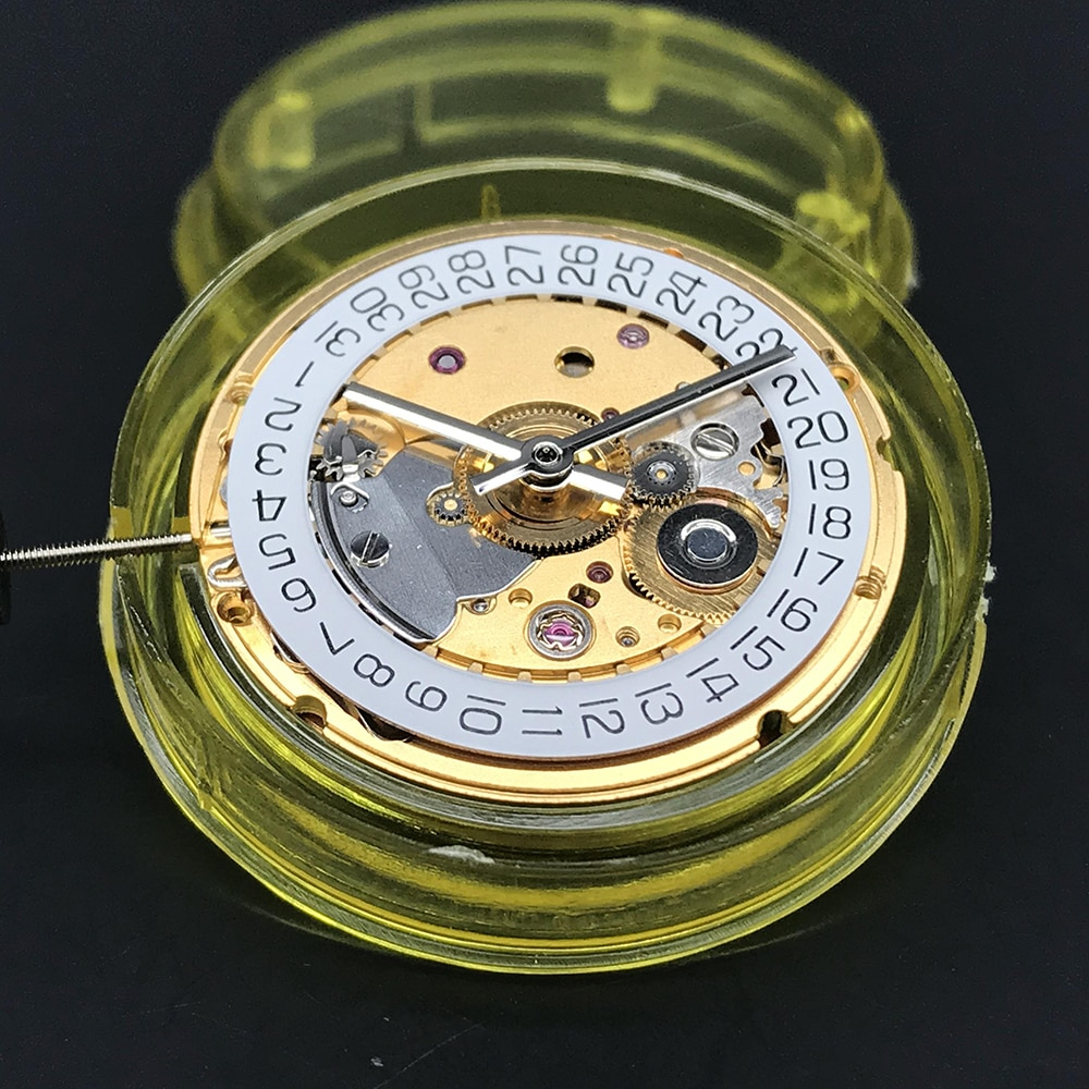 Seagull Automatic Movement 2824-2 Mechanical Watch Parts Replacements clock Date Golden/Silver Version Eta 2824 enlarge
