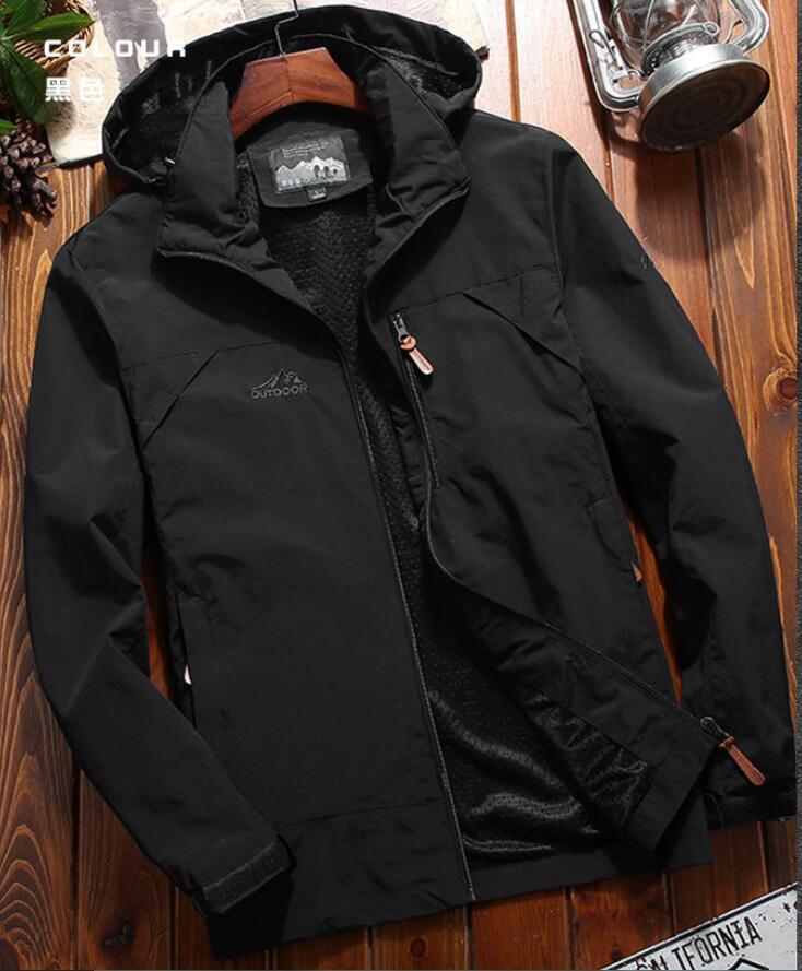 جاكيت رجالي من JTFAN معطف جديد أنيق للخريف كاجول بعلامة تجارية مناسبة للسيلم جاكيت رجالي