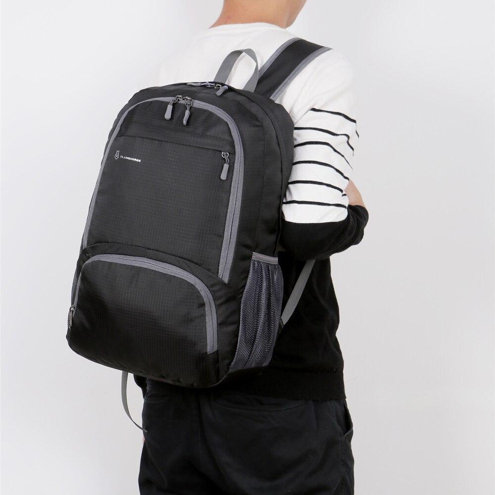 Sac à dos militaire, léger et pliable pour hommes et femmes, sac de jour pour randonnée et voyage, étanche, sac de jour