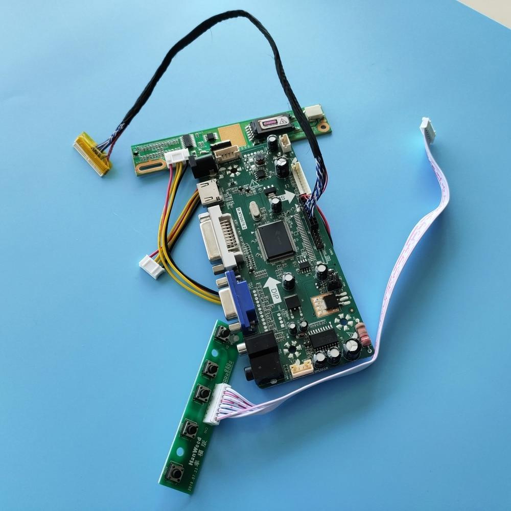 HDMI + DVI + VGA لوحة تحكم مجلس كيت ل LP154W01-TLE1/LP154W01-TLE3 LCD الصوت شاشة M.NT68676 1280X800 30pin 15.4