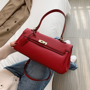 WOMEN'S Bag 2020 New Style Kelly Bag Mass Over-the-shoulder Bag Hand Simple Fashion Wholesale Bags Cross Border Women