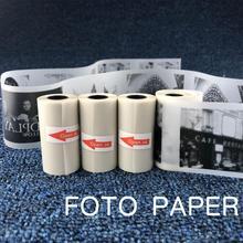 57x30 مللي متر شبه شفافة الحرارية الطباعة لفة ورقة ل Paperang طابعة الصور