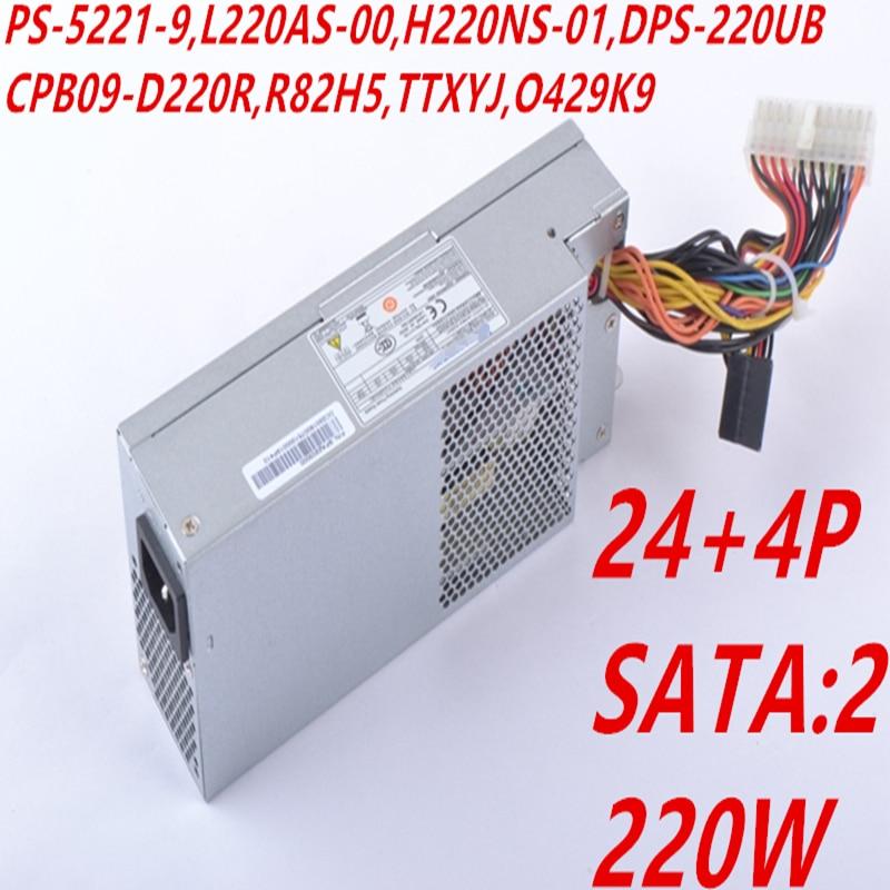 Nuevo PSU para Acer 270 D06S AXC105 A1110X XC100 220W fuente de alimentación PS-5221-9 L220AS-00 H220NS-01 DPS-220UB CPB09-D220R