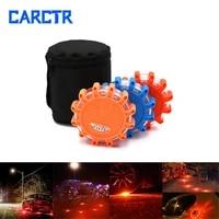 carctr led magnetic warning light 3v strobe long bright emergency light traffic safety road accident light car beacon lamps
