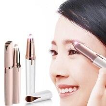 Nouveau rasoir de sourcils électrique stylo épilateur à sourcils rasoir multifonction épilateur indolore yeux sourcils tondeuse visage rasoir