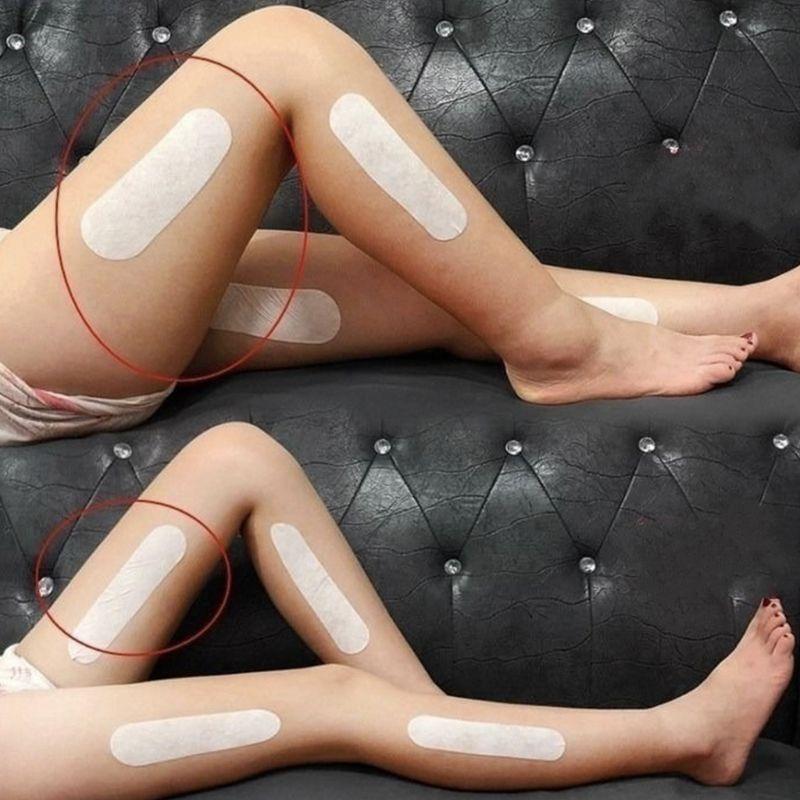 18 pçs remendos de emagrecimento coxa perna perna perna braço corpo moldar adesivos perda de peso beleza natural saúde queimador de gordura gesso celulite