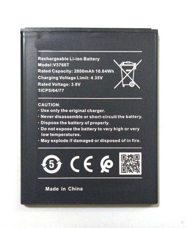 New high quality 2800mAh V3760T external battery for Nokia V3760T mobile phone
