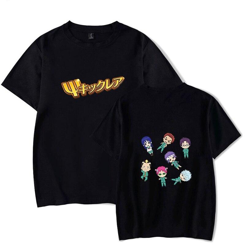Saiki Kusuo no Sai-nan 3D T Shirt for men Streetwear Printed Oversize O-neck Short Sleeve Women Anime Japanese Funny T Shirt