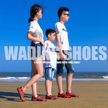 Couple Parenting Beach Shoes Light Weight River Tracing Soft Sole Wading Shoes for Swimming Beach Sn