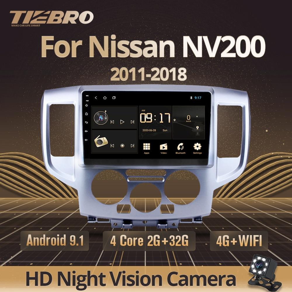 TIEBRO 2din الروبوت 9.0 راديو السيارة لنيسان NV200 2011 2015 2016 2017-2018 2din سيارة الوسائط المتعددة لاعب السيارات راديو ستيريو سيارة DVD