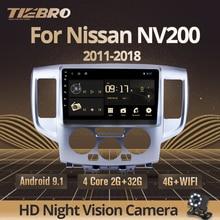 TIEBRO 2din Android 9,0 Auto Radio Für Nissan NV200 2011 2015 2016 2017-2018 2din Auto Multimedia-Player Auto radio Stereo Auto DVD
