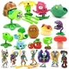 Large Genuine Plants vs. Zombie Toys 2 Complete Set Of Boys Soft Silicone Anime Figure Children's Dolls Kids Birthday Toy Gifts 2