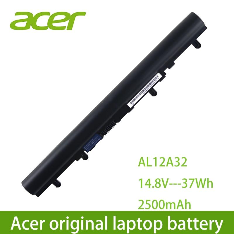 Ordinateur portable dorigine Acer batterie dordinateur portable AL12A32 Pour Acer Aspire V5 171 V5-431 V5-471 V5-531 V5-571 V5-171-9620 V5-431G V5-551-8401 V5-571PG