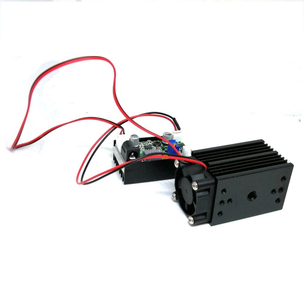 Фокусируемый мощный 532 нм 100 мВт зеленый лазер диод модуль точка% 2FLine позиционирование 12 В драйвер TTL