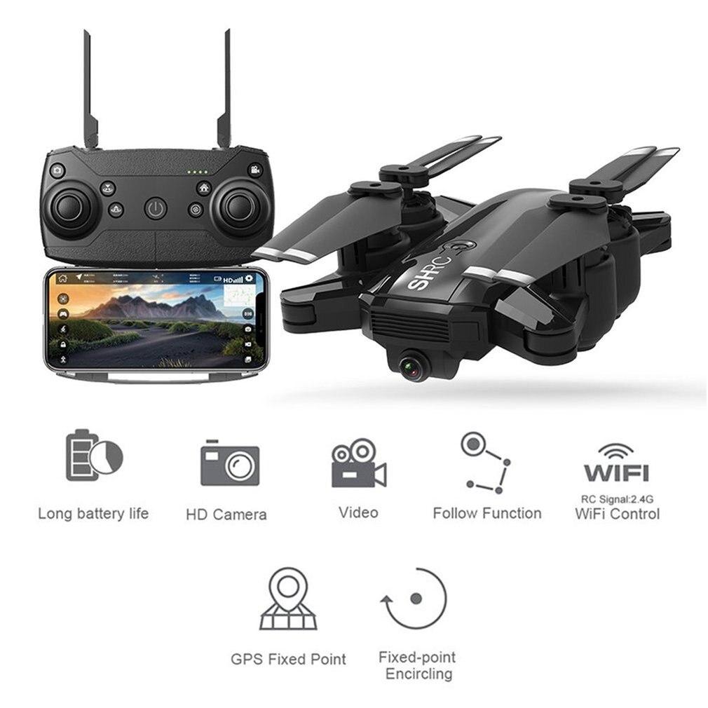 Nova shrc h1g rc zangão quadcopter 1080p 5g wifi fpv gps siga-me modo dobrável 25 minutos de tempo de vôo rc zangão quadcopter